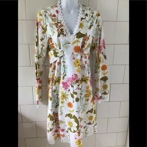 Alice & Trixie Floral Cotton Dress M